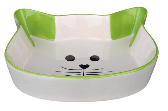 MISKA ceramiczna głowa kota