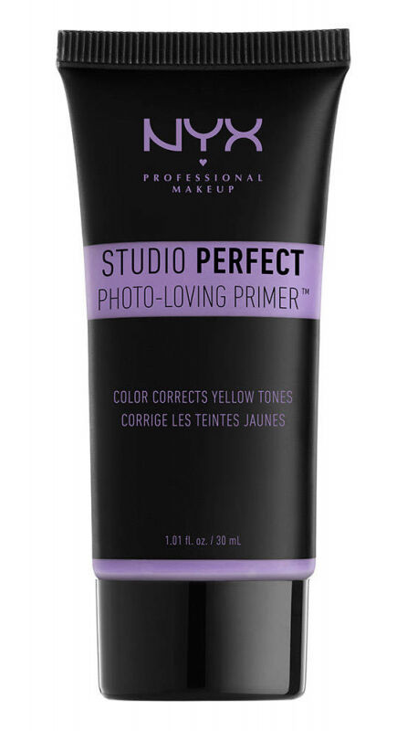 NYX Professional Makeup - STUDIO PERFECT PRIMER - PHOTO LOVING PRIMER - Korygująca baza pod makijaż - Lavender - Fioletowa