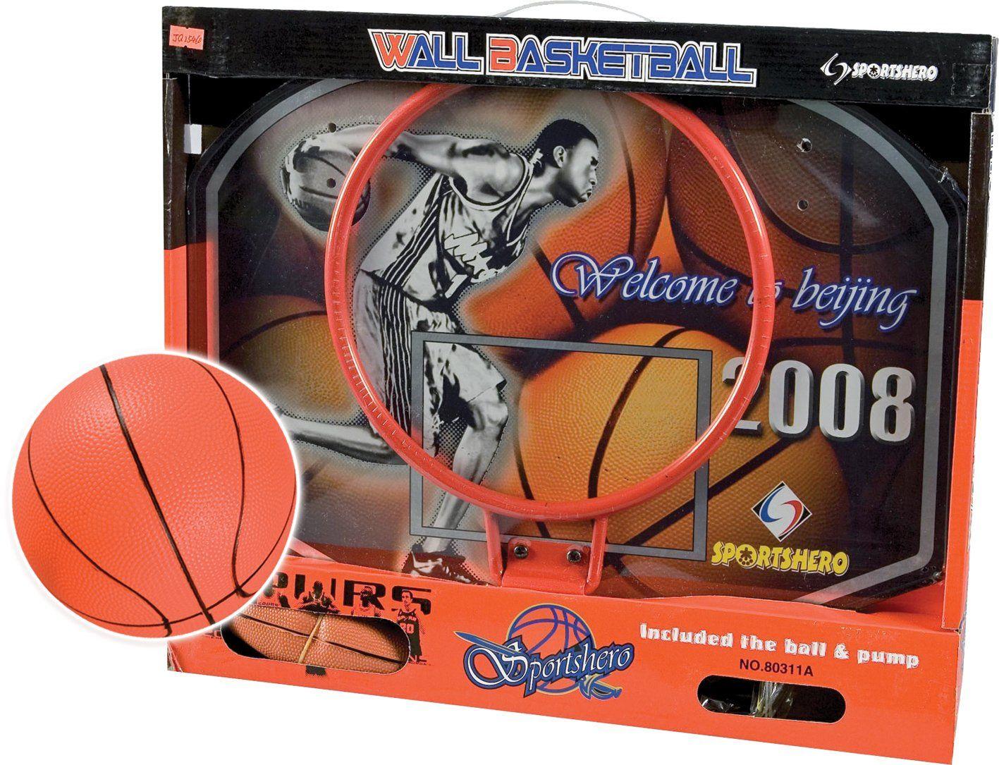 RSTA - Mini kosz do koszykówki + piłka, 7399