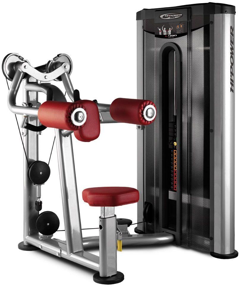 Maszyna do ćwiczeń mięśni naramiennych Deltoid Raise L490 BH Fitness