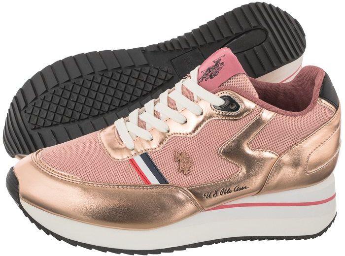 Sneakersy U.S. Polo Assn. Livy Nude SYLVI4127S1/YM1 (US57-c)