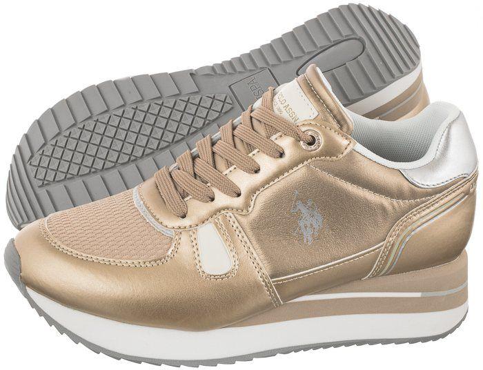 Sneakersy U.S. Polo Assn. Sylvi1 Plat SYLVI4032W0/TY1 (US58-c)