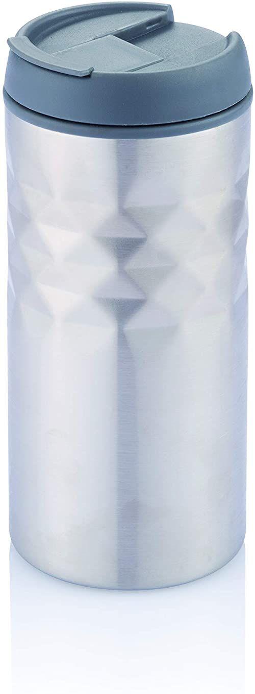 XD Design P432.202 filiżanka, stal nierdzewna, 7 cm, kolor srebrny