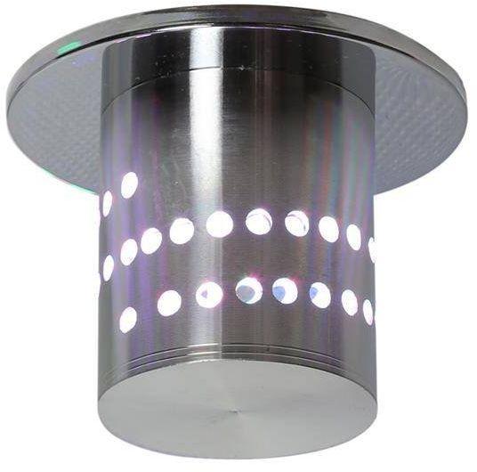 SA-11 AL 3W LED SMD RGB 230V oczko sufitowe lampa sufitowa aluminiowa
