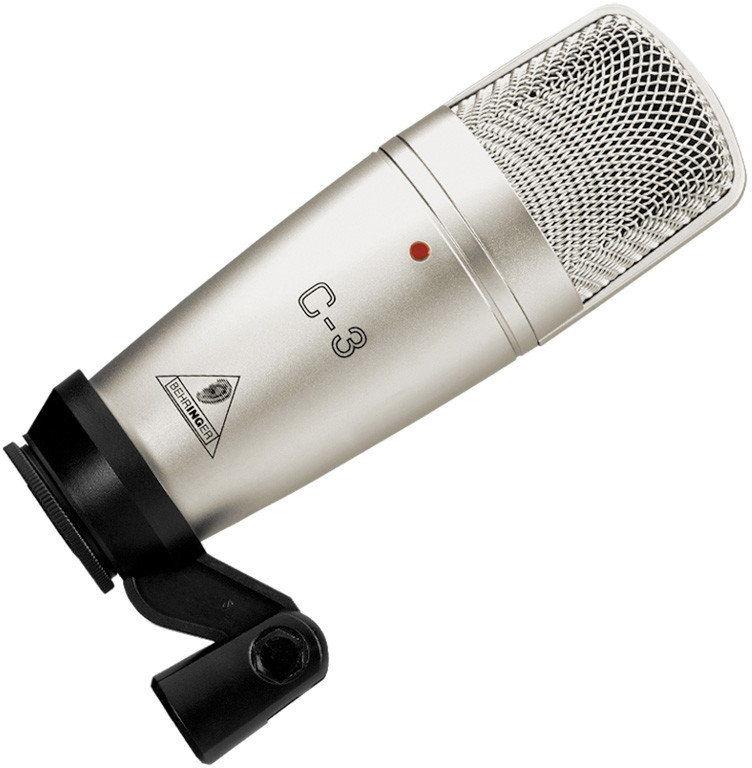Behringer C-3 - studyjny mikrofon pojemnościowy