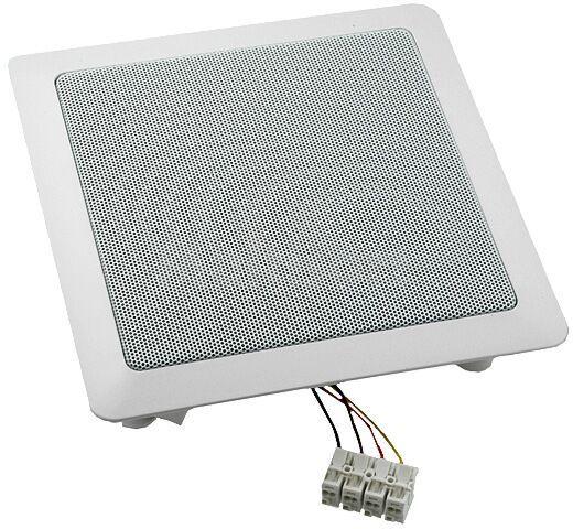 Głośnik sufitowy uniwersalny wodoodporny 40W 8Ohm 220x220x63mm