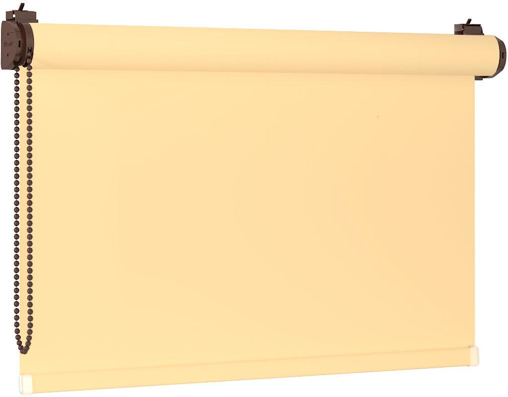 Roleta 100% zaciemnienia BLACKOUT Bezinwazyjna - Sand / Brązowy