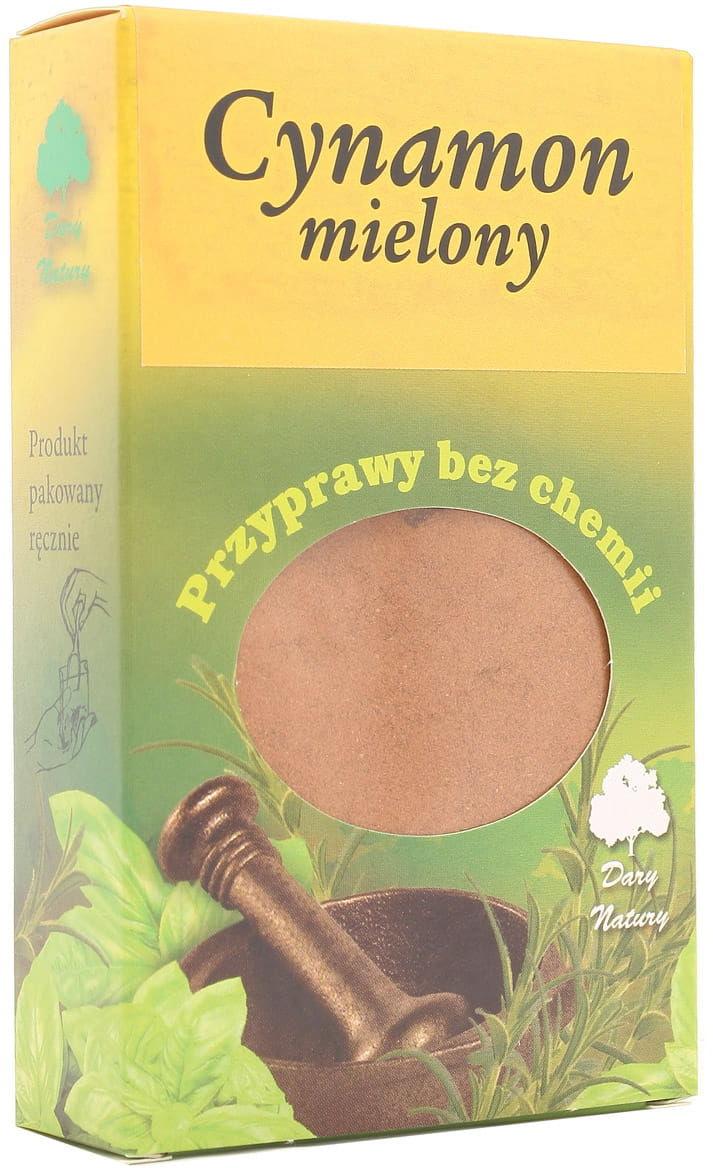 Cynamon mielony - Dary Natury - 60g