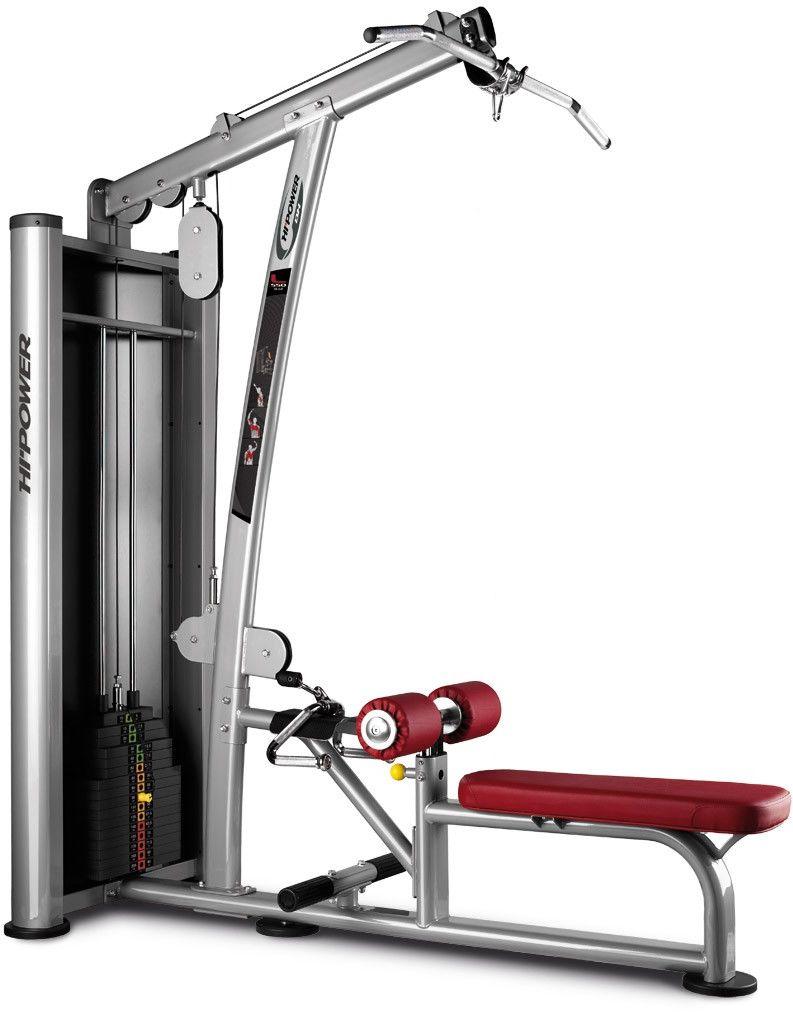 Maszyna do ćwiczeń mięśni klatki piersiowej Lat Pull L550 BH Fitness