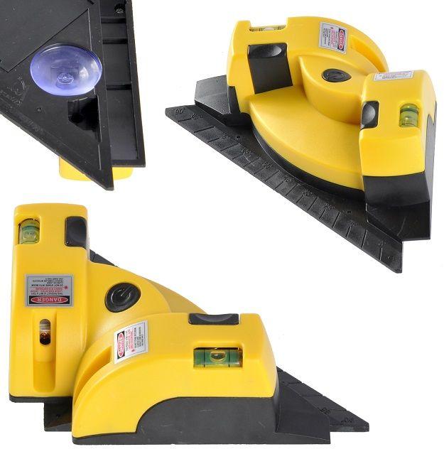 Poziomica laserowa do płytek laser kątowy 2 linie