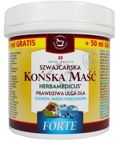 Końska Maść - Chłodząca - Forte Herbamedicus