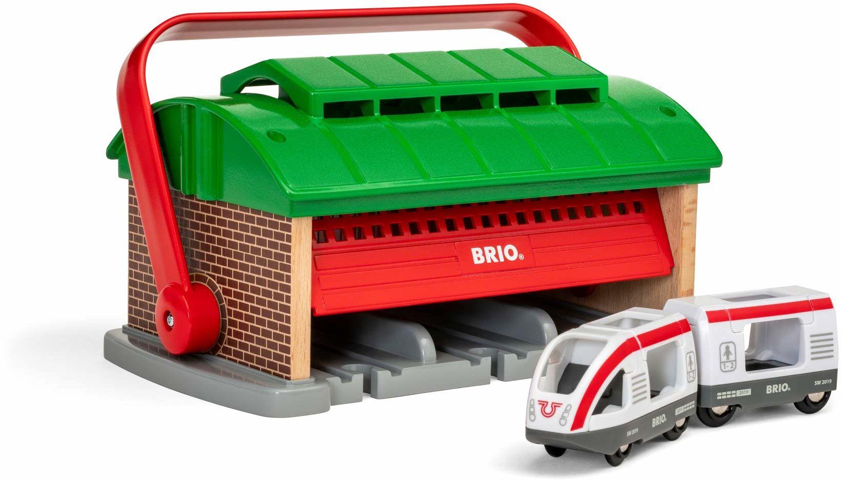BRIO Bahn 33474 - Łupa zabierzeniowa z pociągiem podróżnym