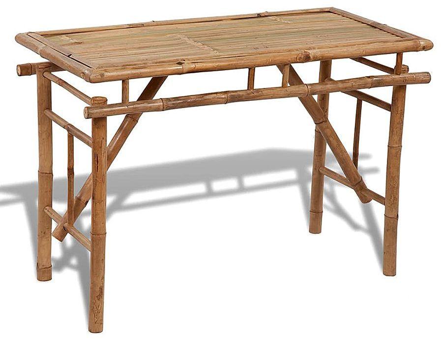 Składany bambusowy stół ogrodowy Eventer