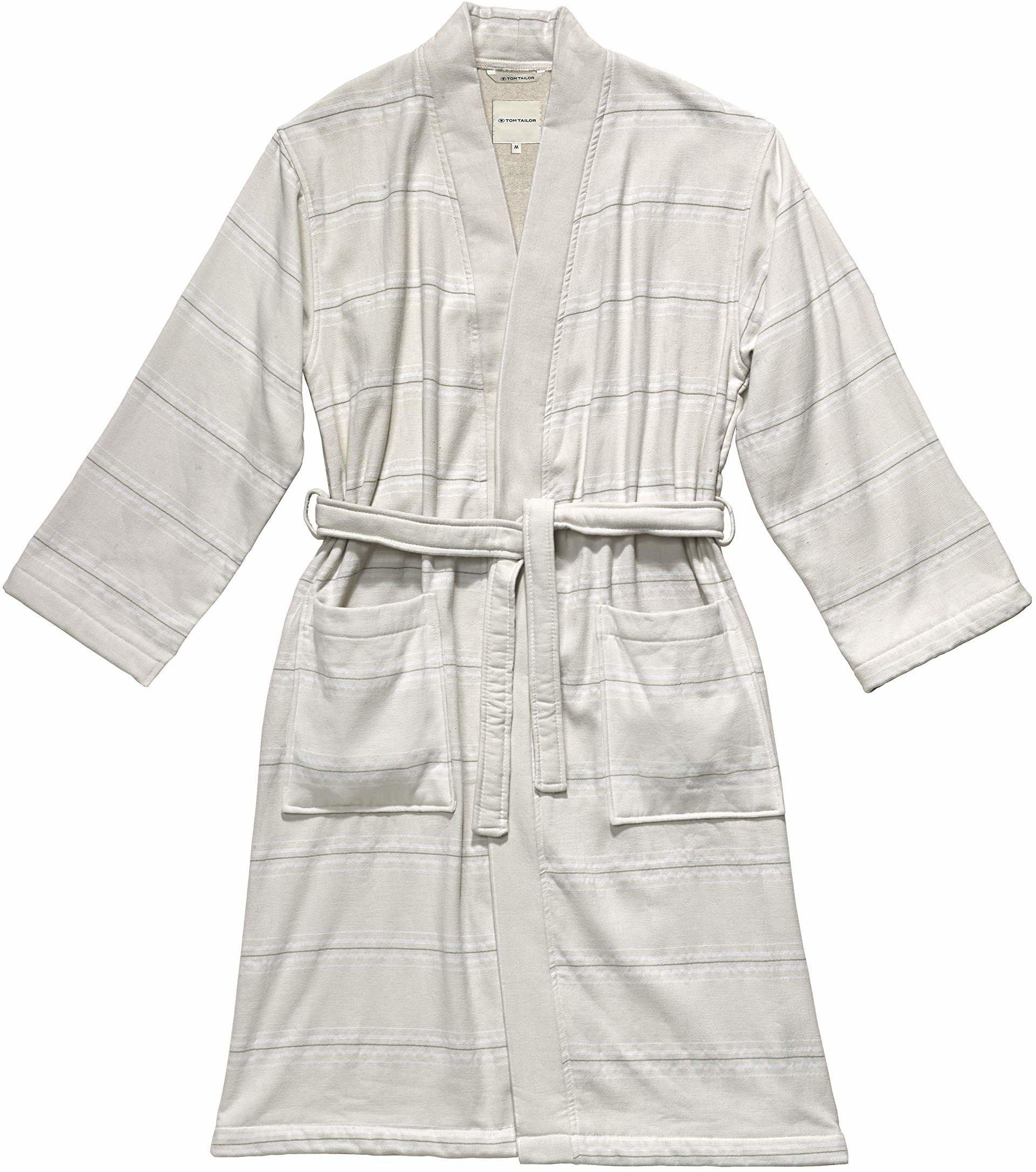 TOM TAILOR 0100509 szlafrok Wellness Kimono, piasek, M