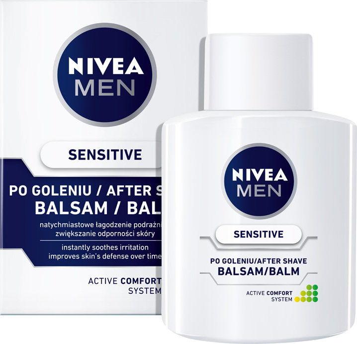 Nivea Men Sensitive Balsam po goleniu łagodzący 100ml