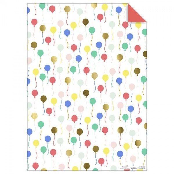 Papier Ozdobny - Rolka Balony