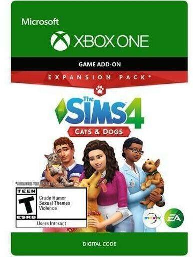 The Sims 4 - Psy i Koty DCL [kod aktywacyjny] Xbox One Dostęp po opłaceniu zakupu