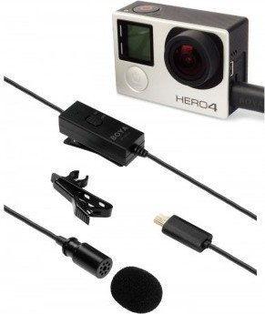 Mikrofon Boya BY-GM10 do kamer GoPro Hero
