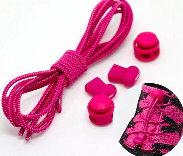Elastyczne sznurówki- różowe