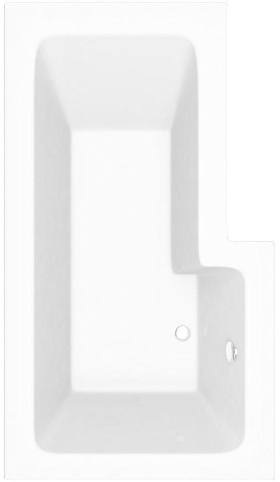 Wanna asymetryczna lewa TESS 150 x 85 SENSEA