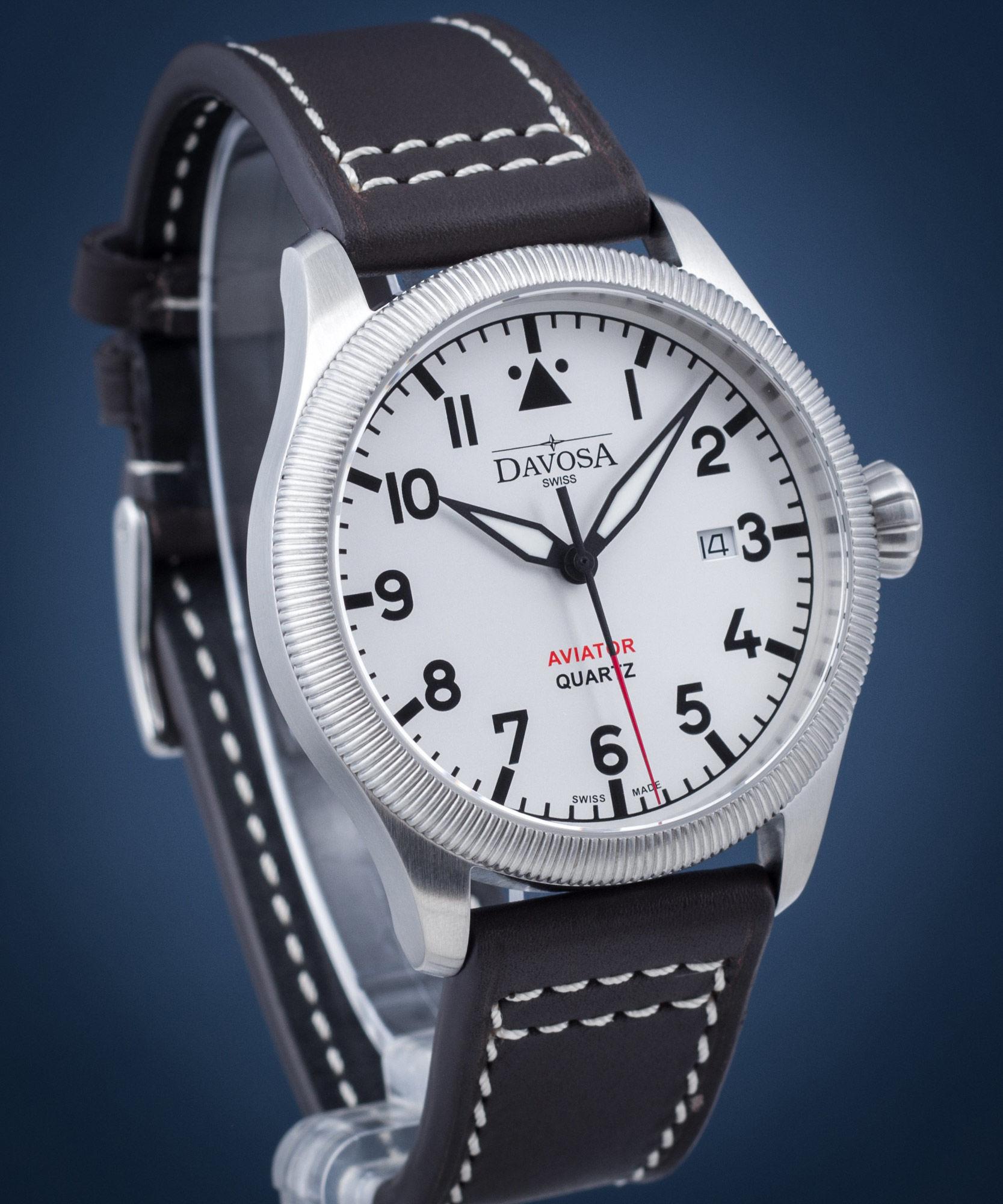 Zegarek męski Davosa Aviator Quartz
