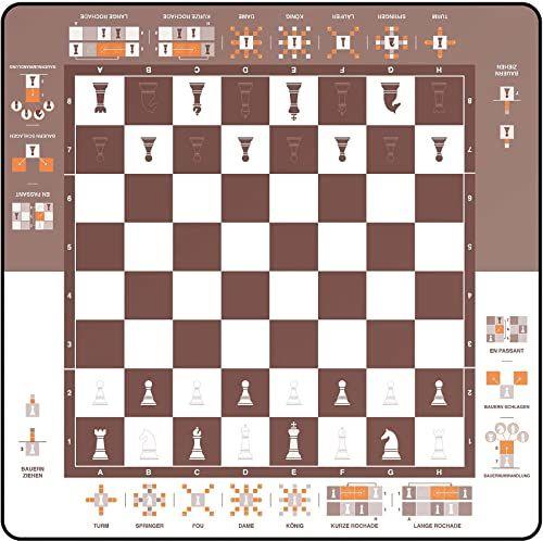 Mata do zabawy, podkładka do zabawy, prosta szachownica, nauka szachów, 40 x 40 cm