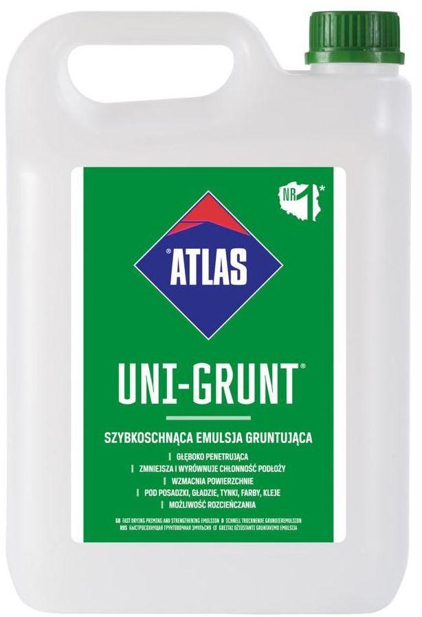 Emulsja gruntująca UNI-GRUNT 5 l ATLAS