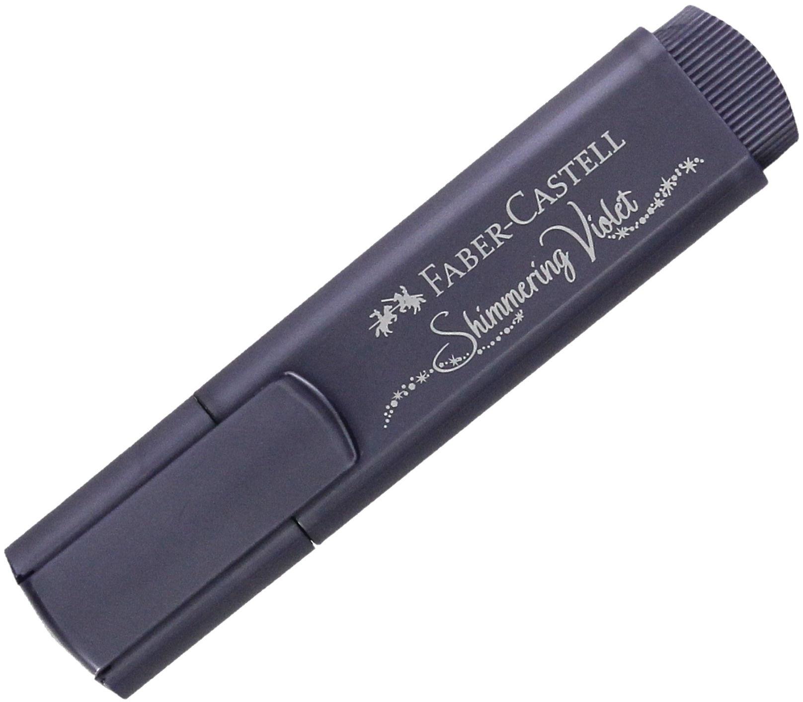 Zakreślacz fioletowy metalik Faber Castel FC154678