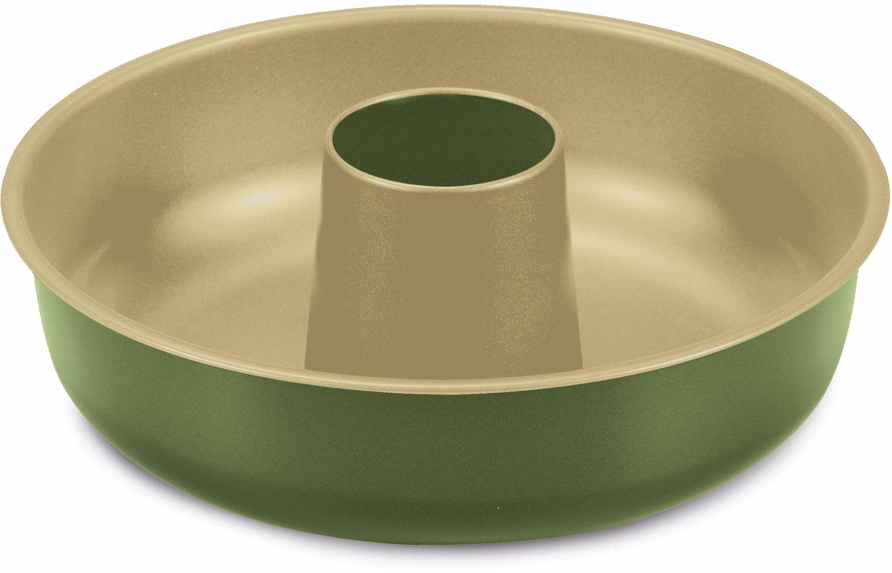 Guardini Guardini BNAT forma do pieczenia pączków, stal z powłoką zapobiegającą przywieraniu, 30 cm, zielona