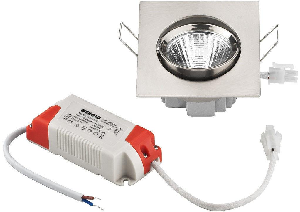 Monacor LDSQ-755C/WWS, oświetlenie, led
