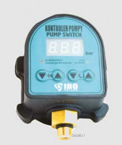 IBO Dambat IBO DIG-IBO 1 elektroniczny wyłącznik ciśnieniowy