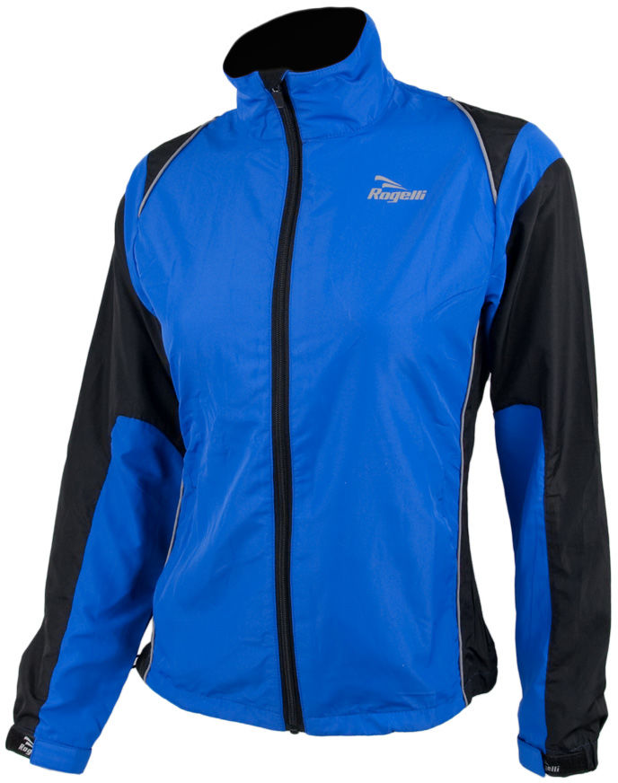 ROGELLI RUN ELVI - ultralekka damska kurtka do biegania, niebiesko-czarna Rozmiar: 2XL,rogelli-elvi-nieb