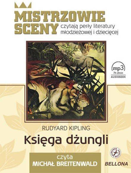 CD MP3 Księga dżungli - Rudyard Kipling