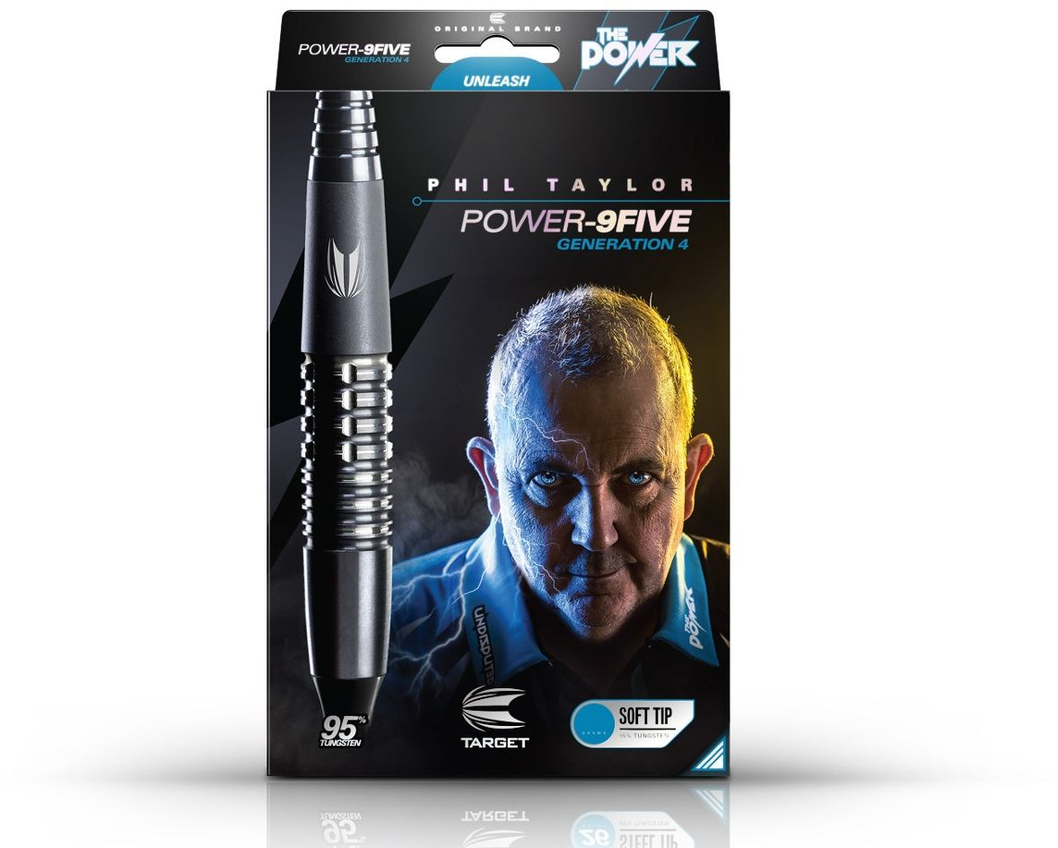 Rzutki Target Phil Taylor Power 9Five Generation 4 (soft tip)
