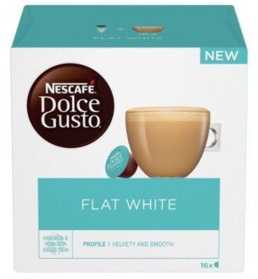 Kawa NESCAFE Dolce Gusto Flat White 16szt.. Kup taniej o 40 zł dołączając do Klubu