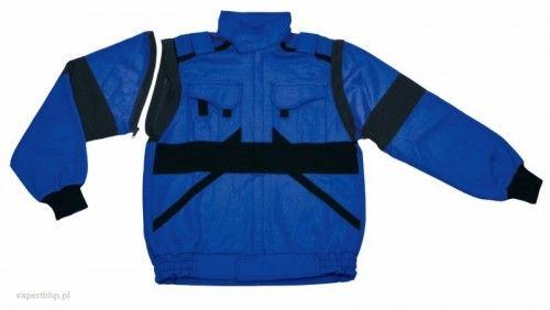 Bluza robocza EDA LUX w kolorze niebiesko- czarnym