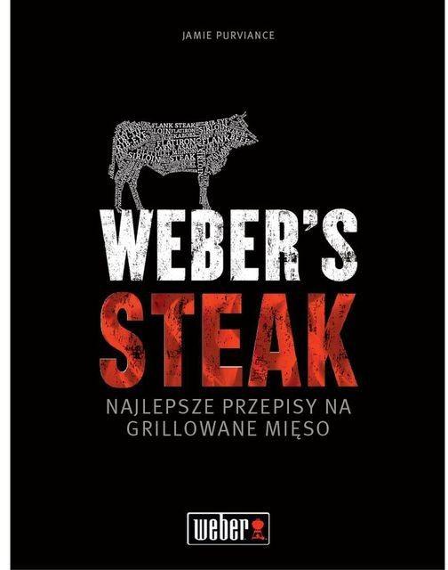 "Książka ""Steki"" Weber (83447) --- CERTYFIKOWANY PARTNER Weber WORLD"
