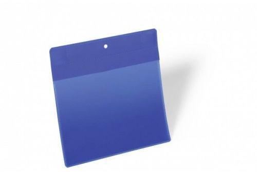 Kieszeń magazynowa magnetyczna neodymowa DURABLE 210x148mm, pozioma, niebieska (10szt.) 174607
