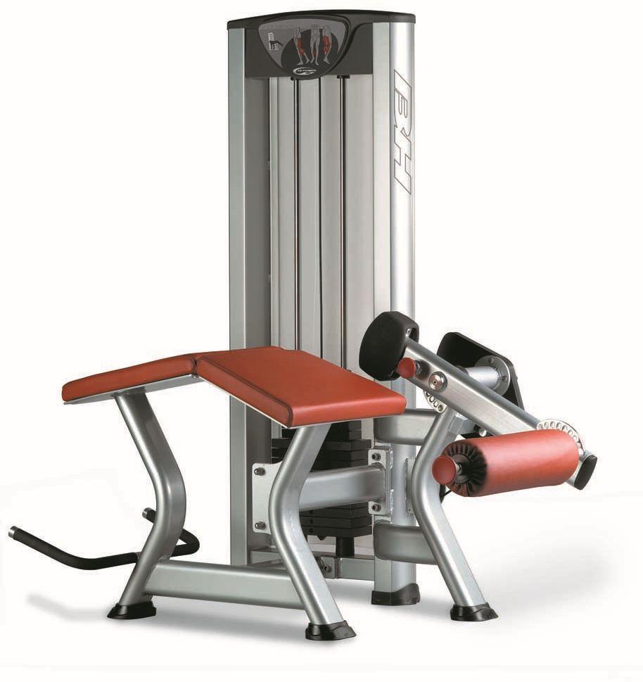 Maszyna do ćwiczeń mięśni dwugłowy uda leżąc X030PC BH Fitness