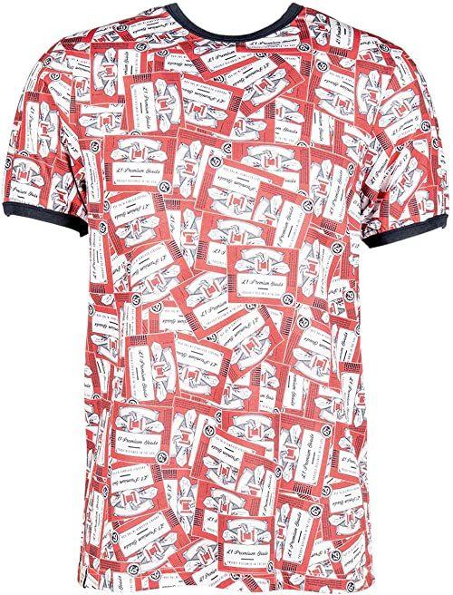 Nitro Glory Boot Ringer Tee''20 T-shirt, kolor czerwony, L