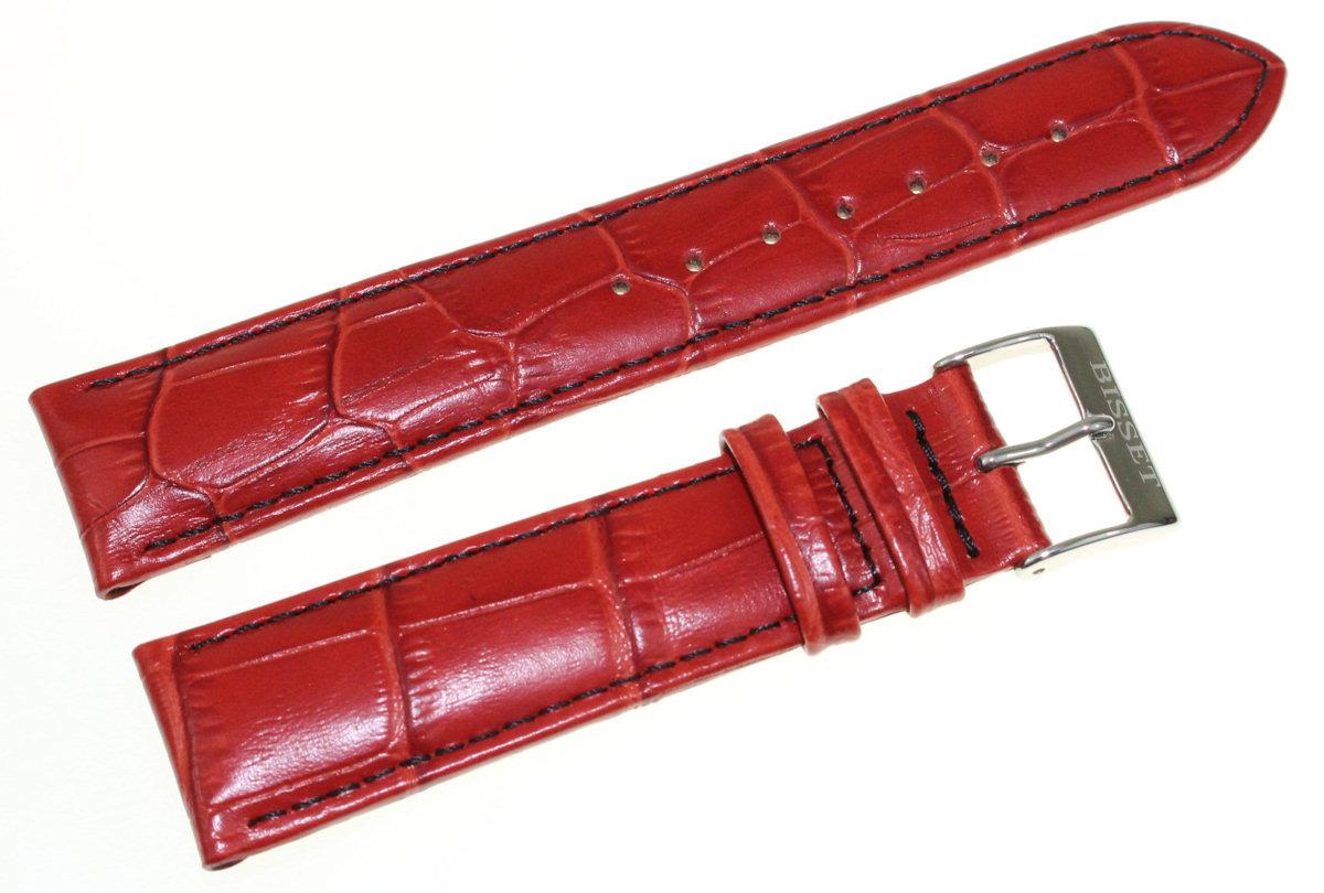 Skórzany pasek do zegarka Bisset 20 mm BS-123.20.18