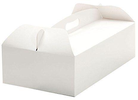 Decora 0340207 pudełko na ciasto z uchwytem do noszenia, 36 x 21 x 12 cm