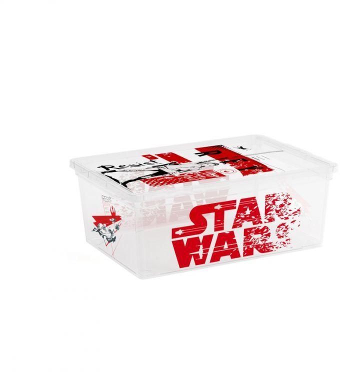 Pudełko plastikowe KIS STAR WARS - S