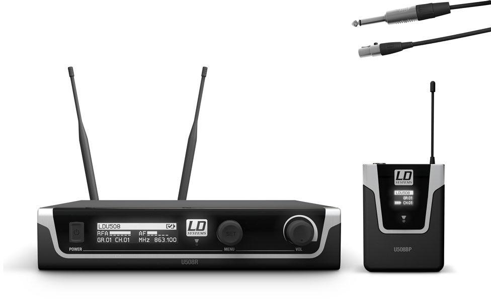 LD Systems U508 BPG - system bezprzewodowy instrumentalny