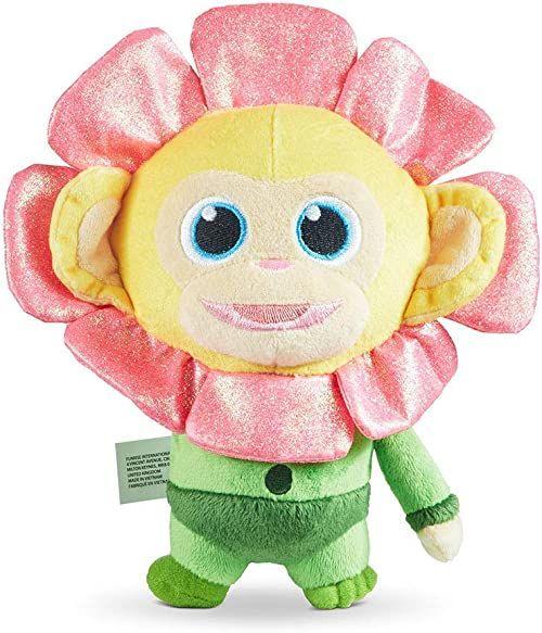 Joy Toy 31089 Wonderpark pluszowa figurka kwiaty małpa 20 cm, wielokolorowa