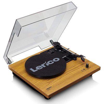 Gramofon LENCO LS-10 Brązowy Dogodne raty! DARMOWY TRANSPORT!