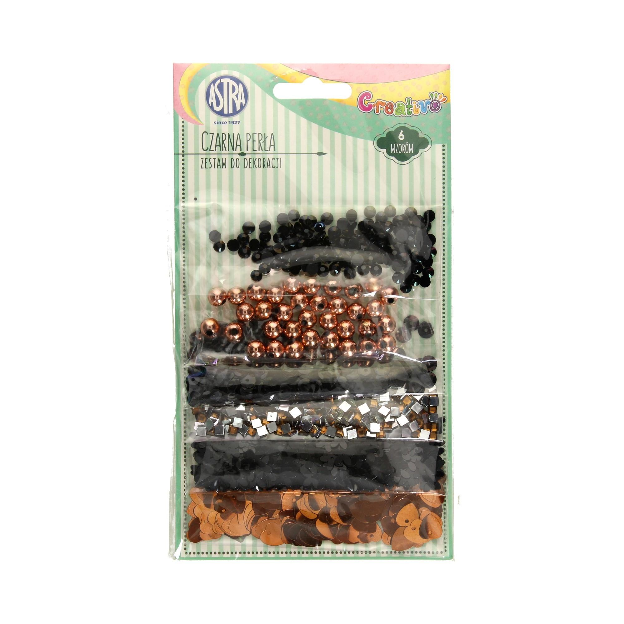 Zestaw dekoracyjny czarna perła Astra 335118001