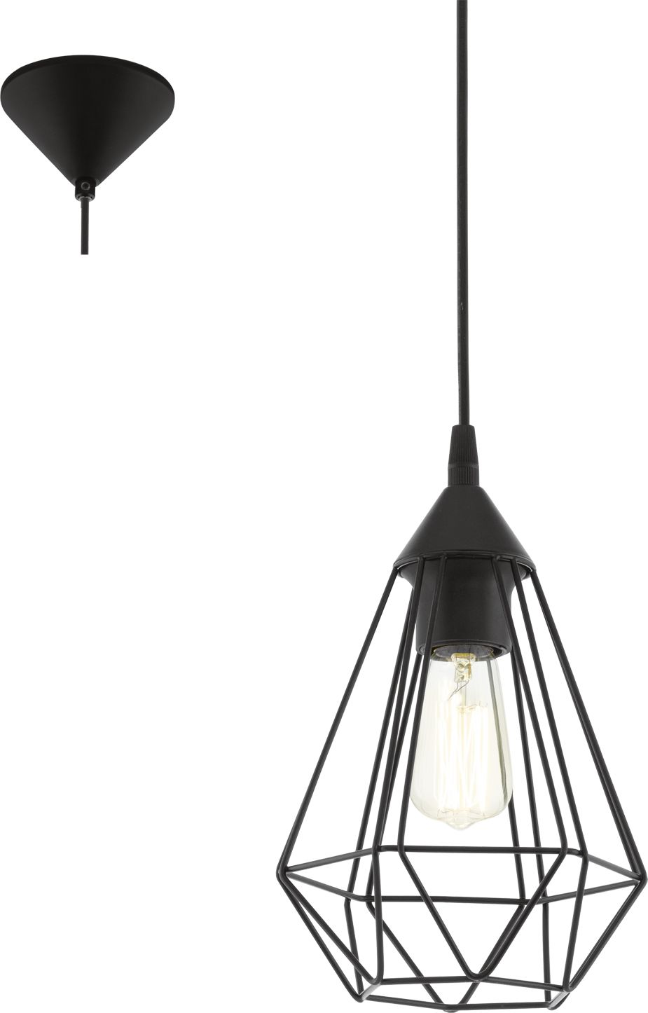 Eglo lampa wisząca Tarbes 94187- SUPER OFERTA - RABAT w koszyku