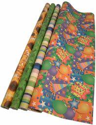Comarco Sa Papier do pakowania prezentów 2500 x 0,5 x 70 cm wielokolorowy