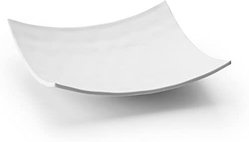 Lacor Źródło kwadratowe, melamina, białe 19 x 19 x 4 cm